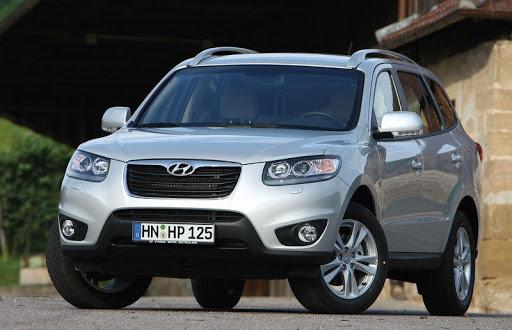 De Hyundai Santa Fe van 2010-2012