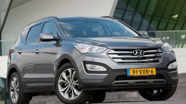 De Hyundai Santa Fe van 2012-2016