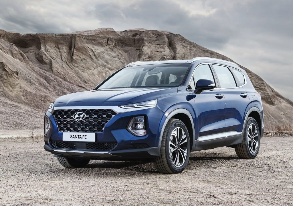 De Hyundai Santa Fe van 2019