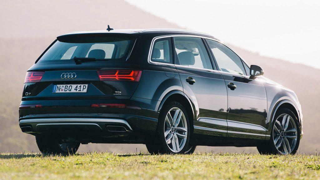De Audi Q7 met de facelift uit 2015