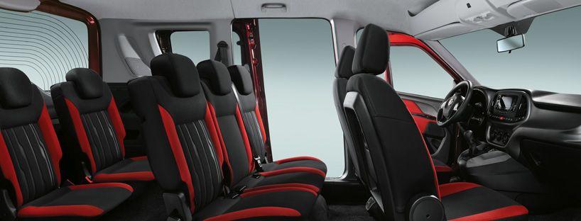 De Fiat Doblò met de facelift van 2015-2016 - interieur