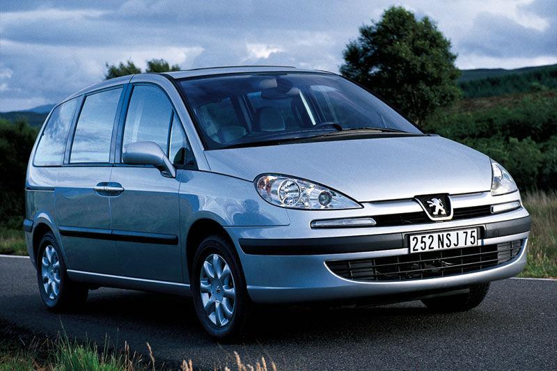 De Peugeot 807 van 2002-2008