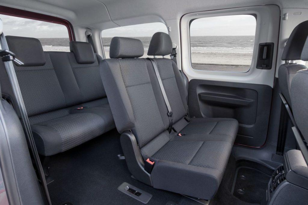De Volkswagen Caddy Combi van 2015 - interieur