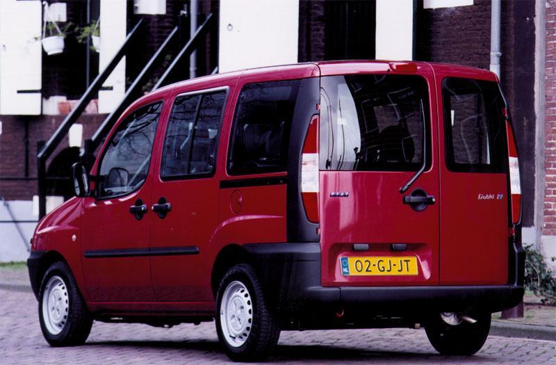 De Fiat Doblò van 2001-2005