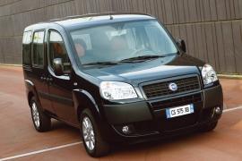 De Fiat Doblò met de facelift van 2005-2010