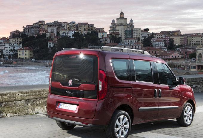 De Fiat Doblò met de facelift van 2015-2016