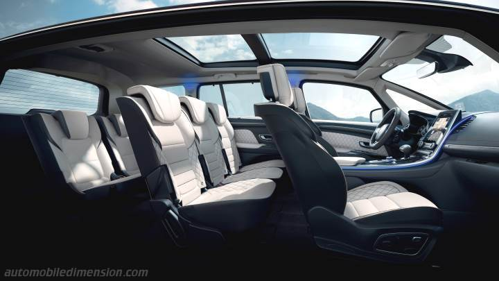 De Renault Espace van 2020 - interieur