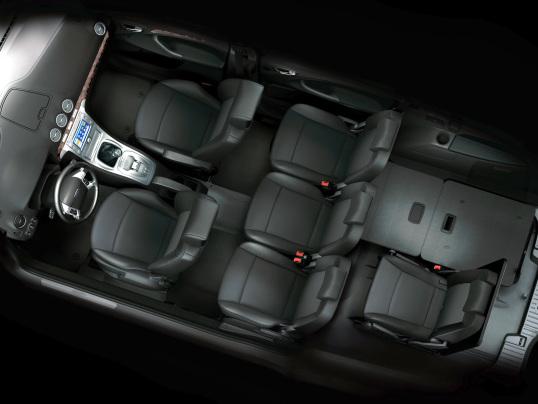 De Ford Galaxy met de facelift van 2006-2010 - interieur