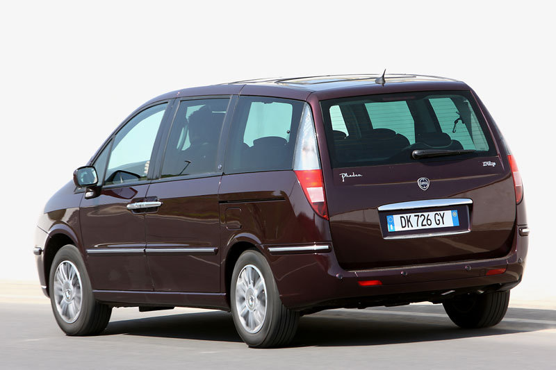 De Lancia Phedra uit 2008-2011