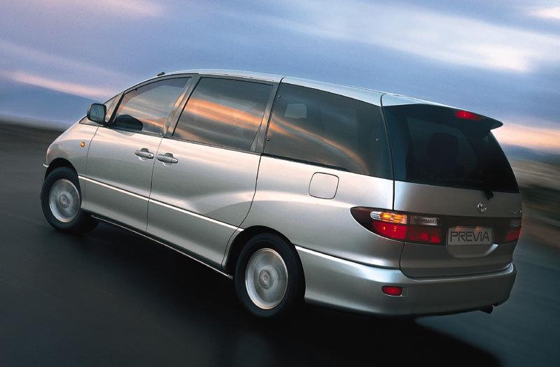 De Toyota Previa van 2003-2005