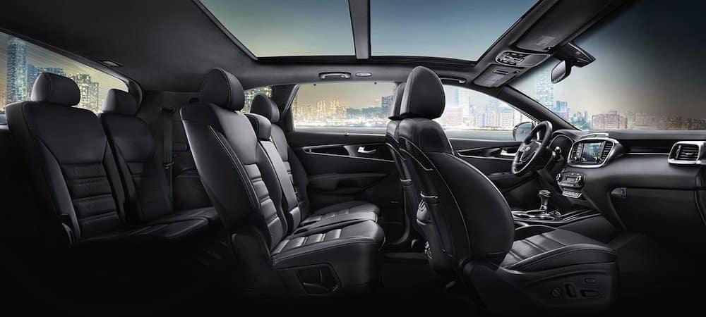 De Kia Sorento met de facelift van 2020 - interieur