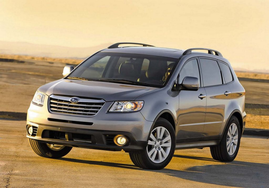 De Subaru Tribeca van 2008-2010