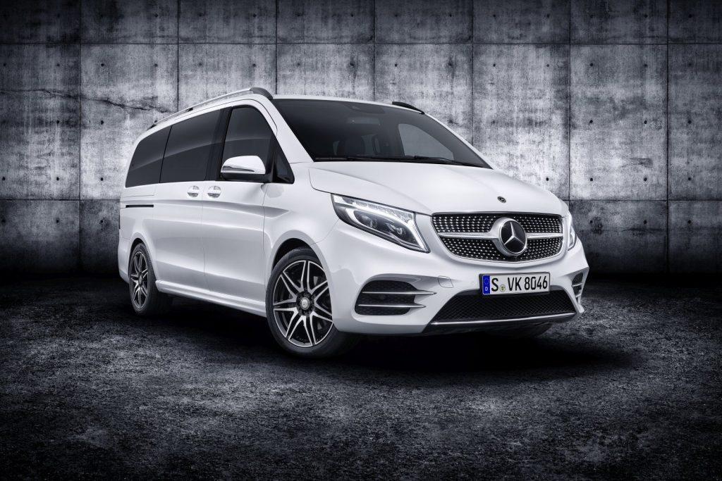De Mercedes-Benz V-Klasse van 2019