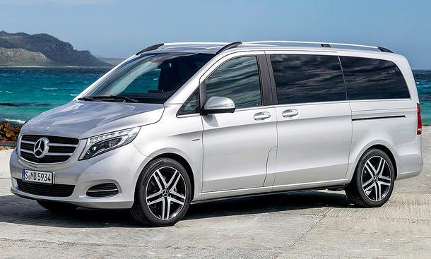 De Mercedes-Benz V-Klasse van 2014-2019