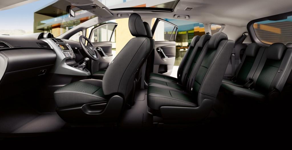De Toyota Verso van  2013-2018 - interieur