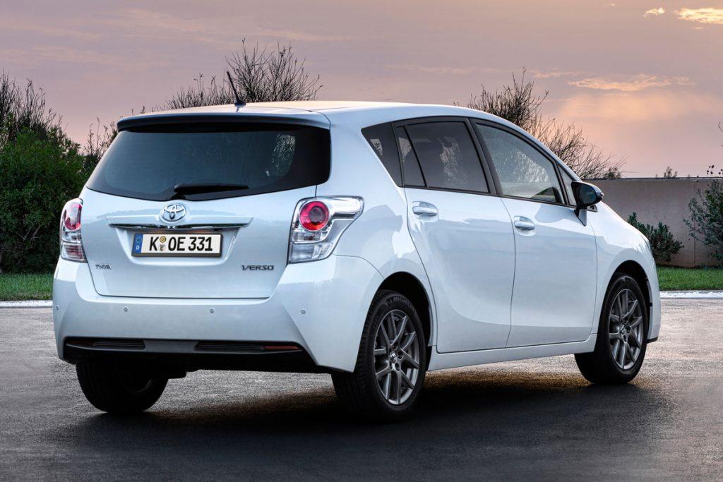 De Toyota Verso van  2013-2018