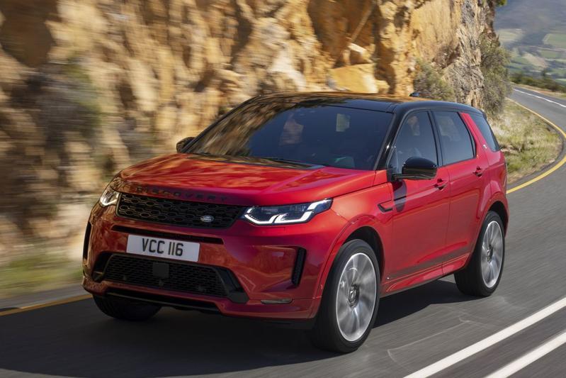 De Land Rover Discovery van 2020