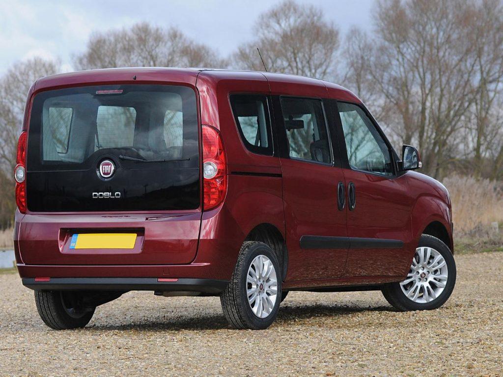 De Fiat Doblò met de facelift van 2010-2015