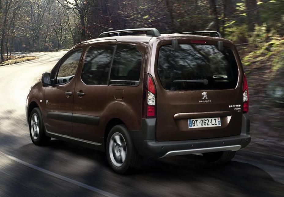 De Peugeot Partner Tepee van 2012-2015