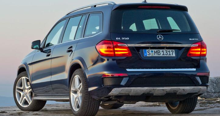 De Mercedes-Benz GL met de facelift van 2012-2015