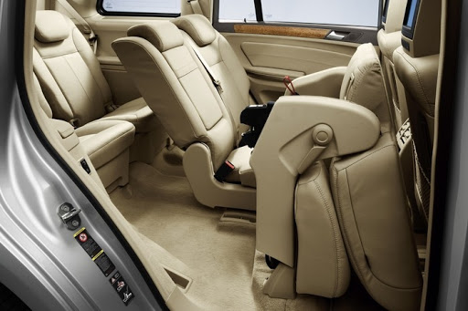De Mercedes-Benz GL van 2006-2012 - interieur