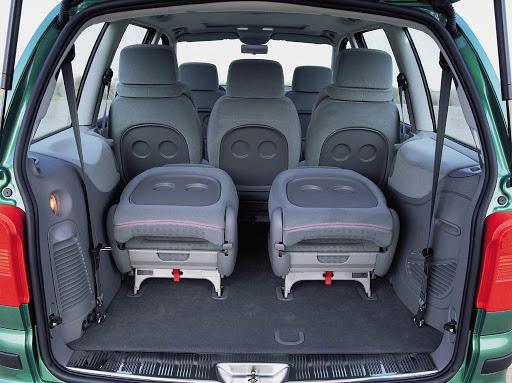 De Volkswagen Sharan van 2000-2010 - interieur