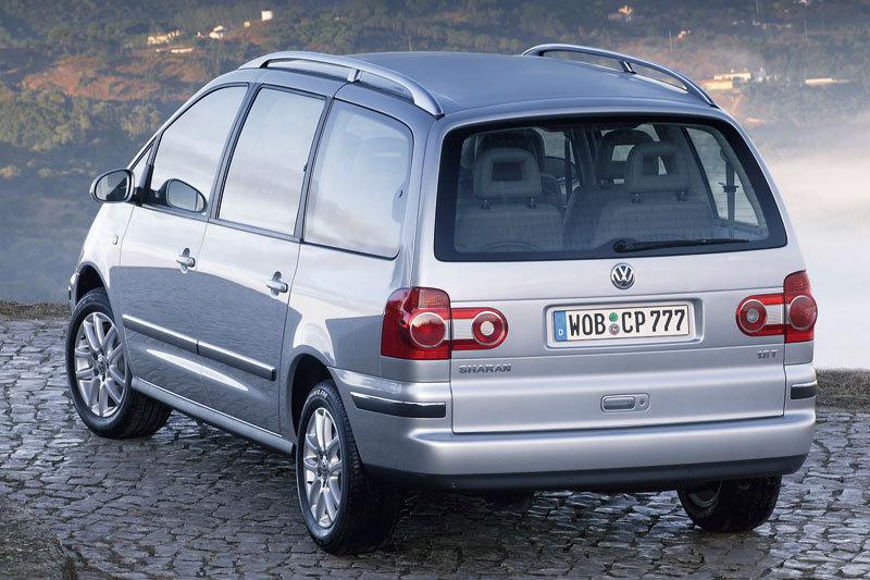 De Volkswagen Sharan van 2000-2010