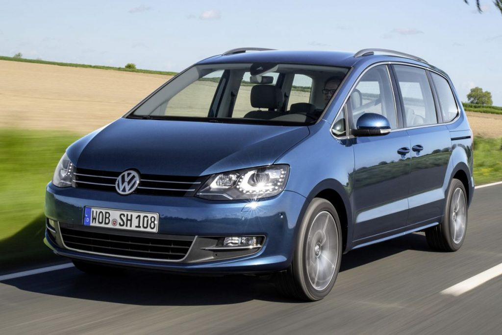 De Volkswagen Sharan van 2010-2015