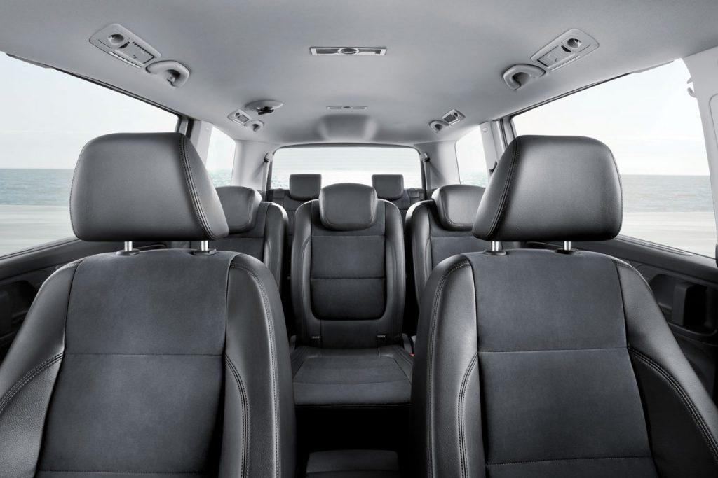 De Volkswagen Sharan van 2010-2015 - interieur