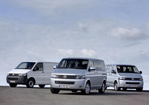 De Volkswagen Transporter Kombi van 2010-2015 en van 2015-heden