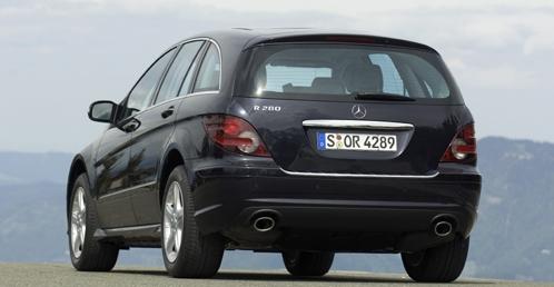 De Mercedes-Benz R-Klasse van 2006-2010