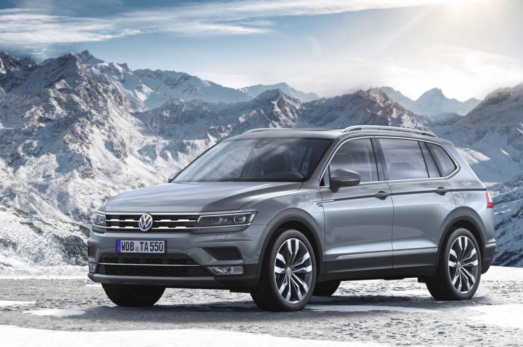 De Volkswagen Tiguan Allspace van 2017