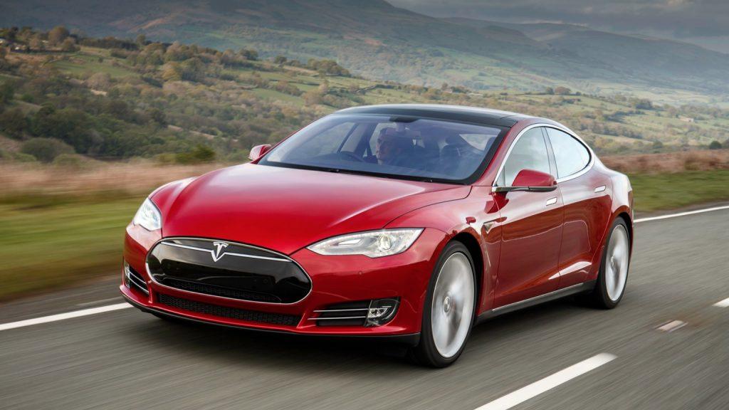 De Tesla Model S van 2016