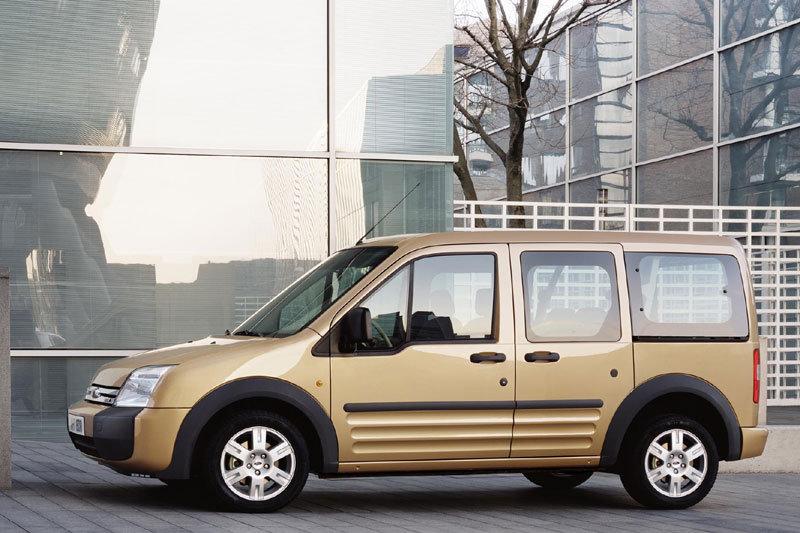 De Ford Transit Connect van 2007-2010