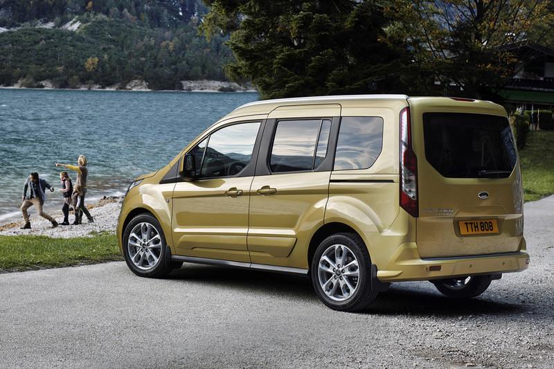 De Ford Tourneo Connect van 2014