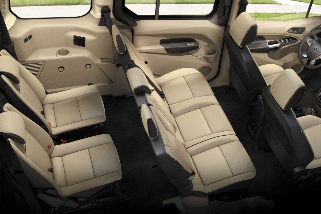 De Ford Tourneo Connect van 2014 - interieur