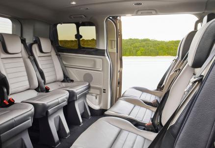 De Ford Transit van 2014-2019 - interieur