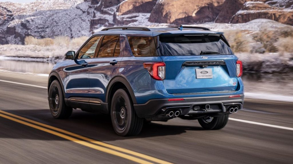 De Ford Explorer in 2020