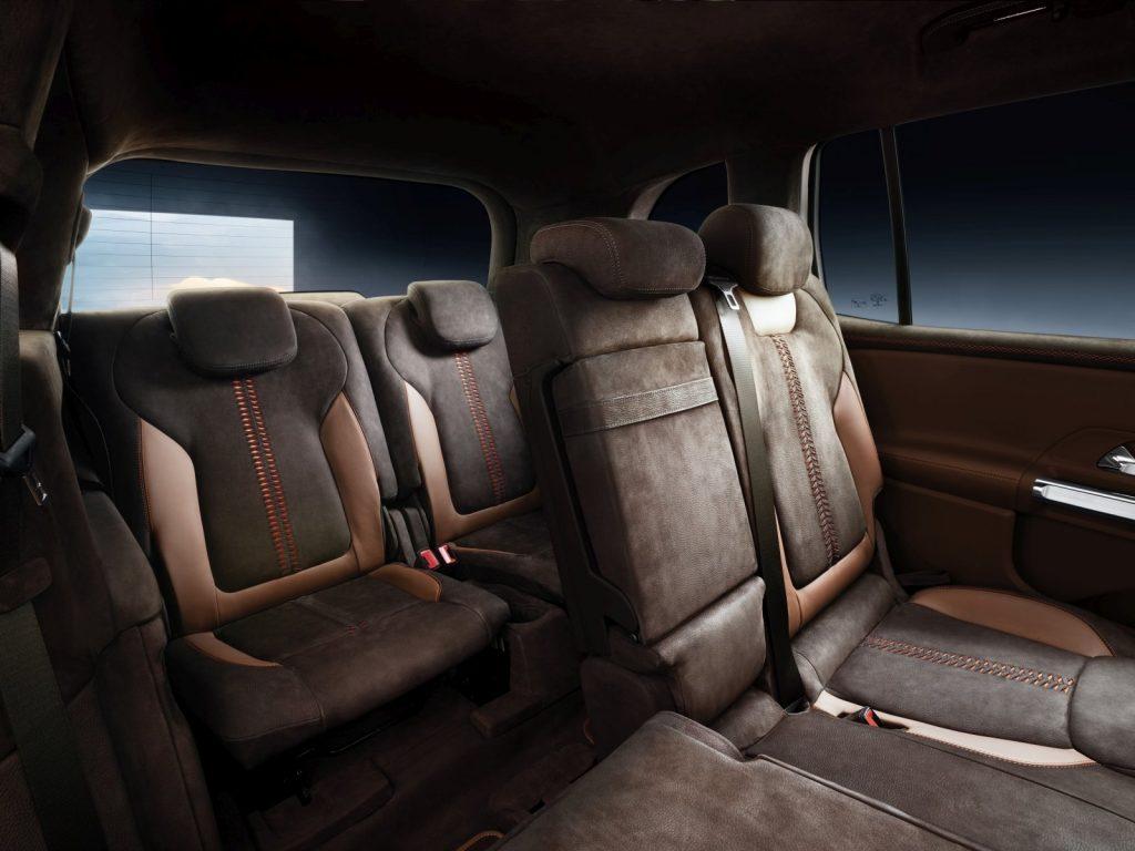 De Mercedes-Benz GLB van 2020 - interieur