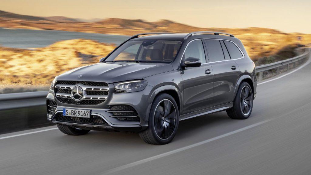 De Mercedes-Benz GLS van 2019