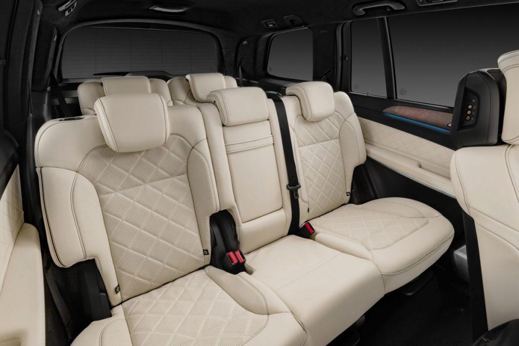 De Mercedes-Benz GLS van 2015-2019 - interieur