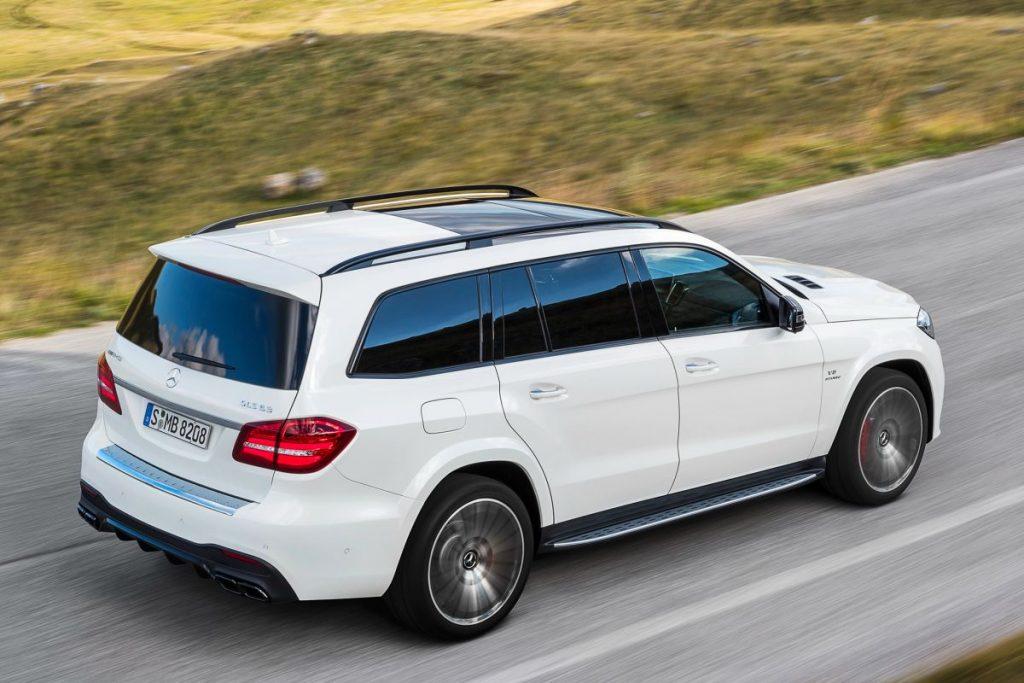 De Mercedes-Benz GLS van 2015-2019