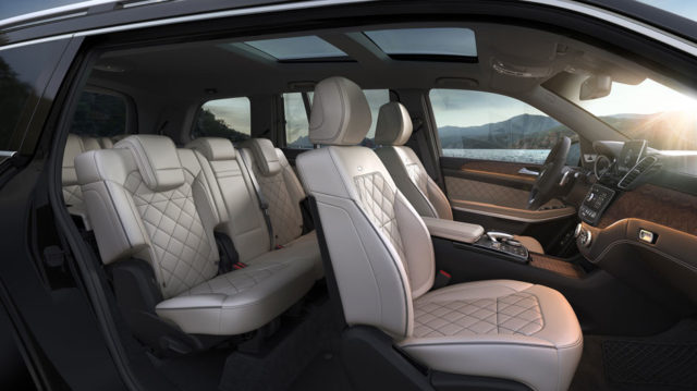 De Mercedes-Benz GLS van 2019 - interieur
