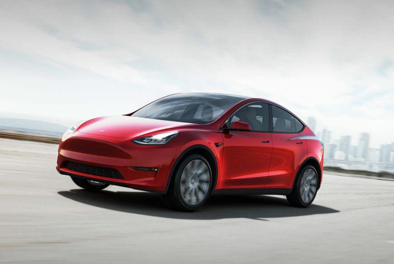 De Tesla Model Y van 2021