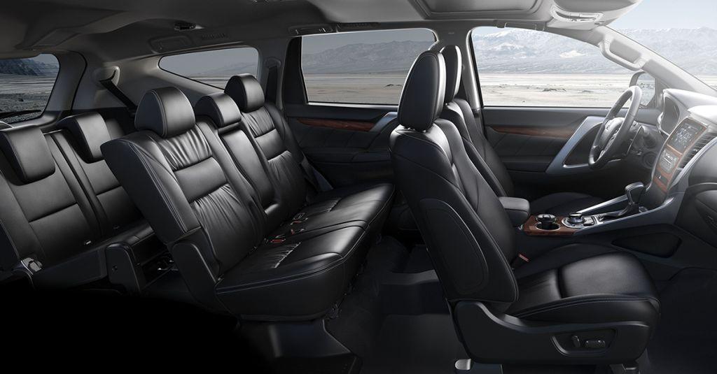 De Mitsubishi Pajero Sport uit 2017 - interieur
