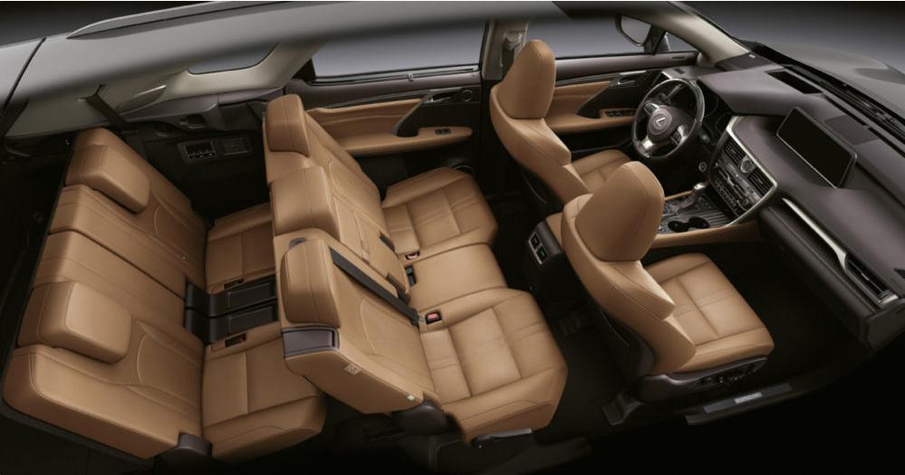 De Lexus RX van 2019 - interieur