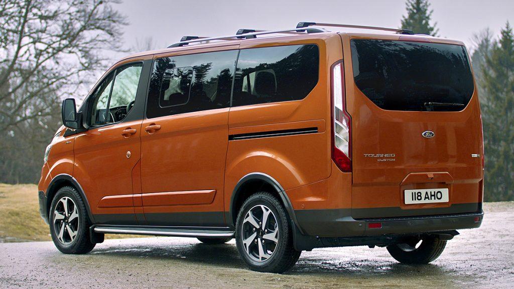 De Ford Tourneo Custom van 2020