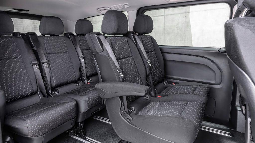 De Mercedes-Benz Vito met de facelift van 2014 - interieur