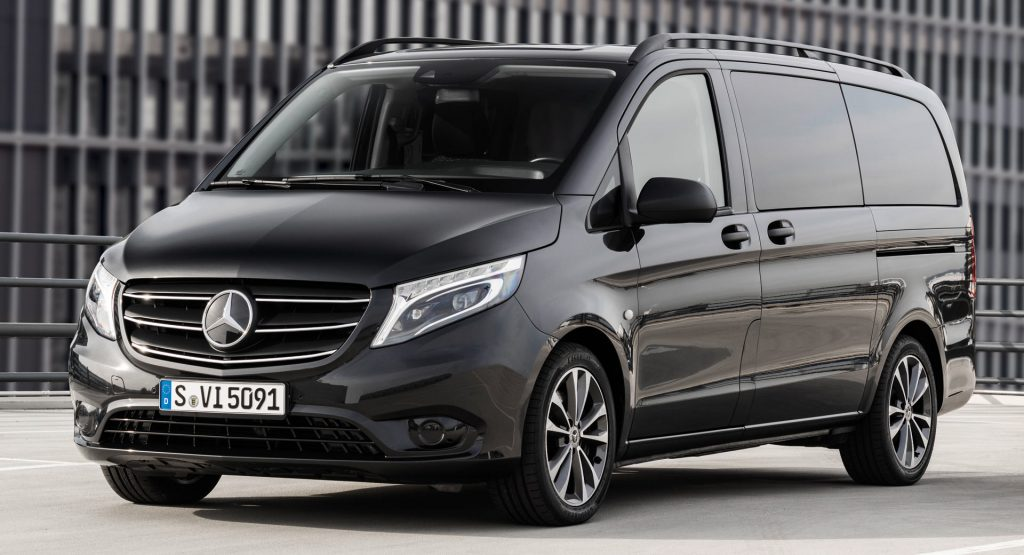 De Mercedes-Benz Vito met de facelift van 2014