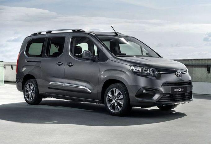 De Toyota ProAce City Verso van 2020